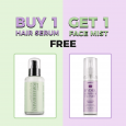Buy 1 Hair Serum and Get 1 Face Mist FREE