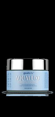 AquaLuxe Moisturizer jar White background