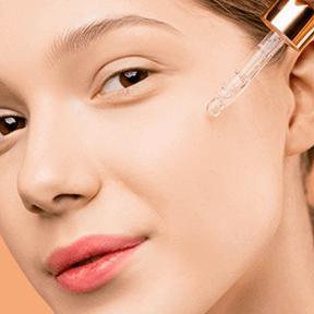 Apply Gosh-C Vitamin c serum on face