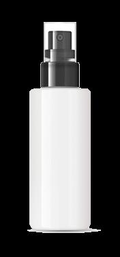 Face mist other bottle white background
