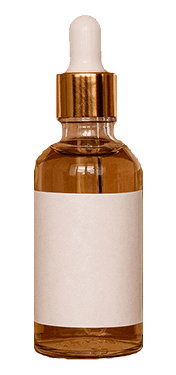 Vitamin C serum amber bottle